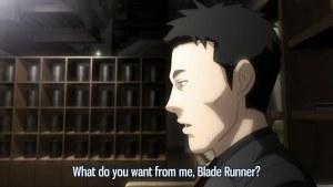 tää oliki blade runner elo kuvasta tää kuva eikä animesta sori hups!! xO